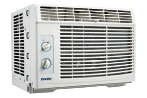 Danby 5000 BTU Window Air Conditioner  LIGHT GREY