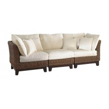 Sanibel Sofa with cushions