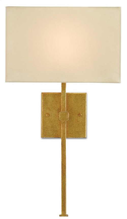 Ashdown Gold Wall Sconce