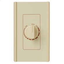 Electronic Variable Speed Control, Ivory, 6 amp., 120V