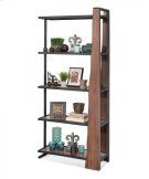 "16462 Wildwood ""Live Edge"" Industrial Pier Bookcase Product Image"