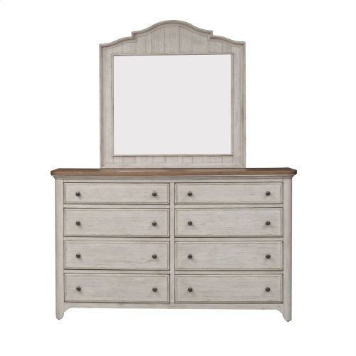 Queen Poster Bed, Dresser & Mirror, NS