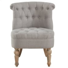 Briana Accent Chair in Grey
