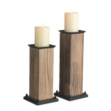 Mixed Material Pillar Holder set/2
