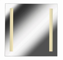 2 Light LED Mirror