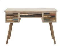 Emerald Home Pablo Pinewood Desk With Multi-colored Drawers-h313