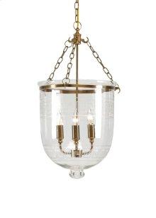 Pendant With Glass Decor