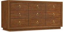 Roman Nine-Drawer Dresser
