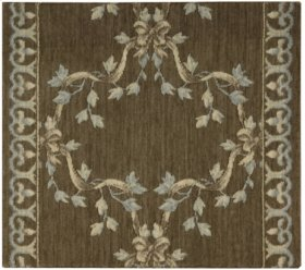 Ashton House Ribbon Trellis A01r Mink-b 27''