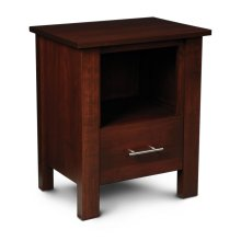 East Village Nightstand with Opening