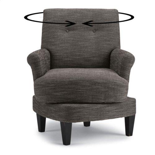 CERISE Swivel Barrel Chair