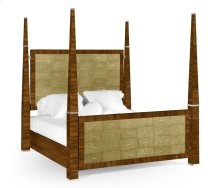 Ivory Shagreen Cali King Bed