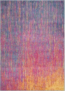 Passion Psn09 Multicolor Rectangle Rug 5'3'' X 7'3''