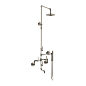 Exposed Wall Tub/ Shower/ Hand Shower System