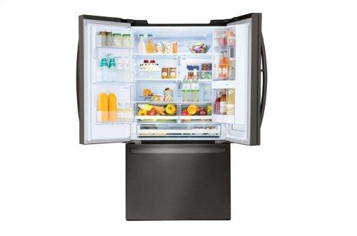 Coming Soon: 28 cu. ft. Smart wi-fi Enabled InstaView Door-in-Door® Refrigerator