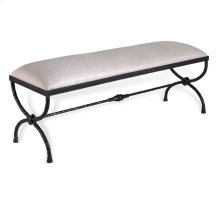 Remy Forged Bench - Cream