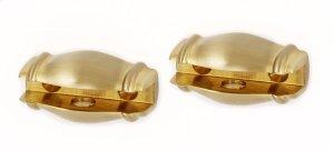 Charlie's Collection Shelf Brackets A6750 - Satin Brass Product Image