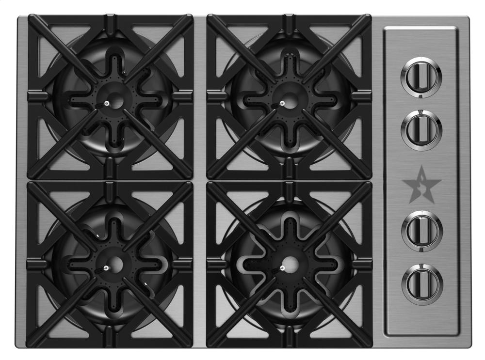 BlueStar-RBCT304BSSV2-30-Inch-Gas-Cooktop