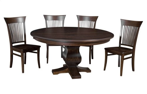 "60""-1-20"" Leaf**5/4 Thick Top** Pedestal Table"