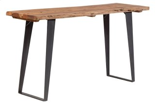 Acacia Wood Live Edge Sofa Table