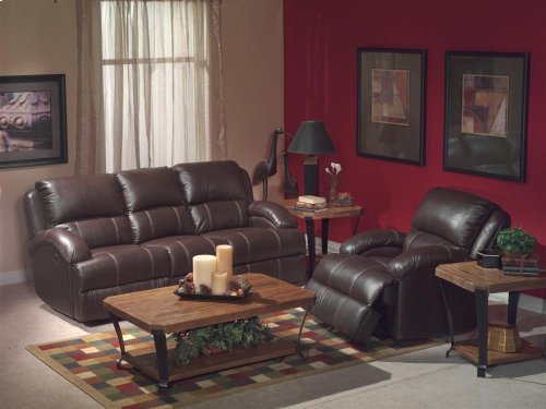 Fast Lane Leather Power Recliner