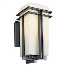 Tremillo Collection Tremillo 1 Light Fluorescent Wall Light in Black