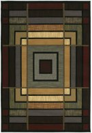 Contours Ambience Blue Rugs Product Image