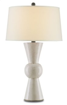 Upbeat White Table Lamp