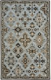 Timber Lodge Ice Blue Hand Tufted Rugs