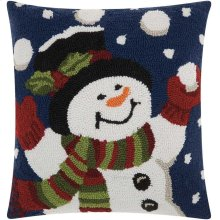 """Home for the Holiday Yx024 Multicolor 18"""" X 18"""" Throw Pillows"""