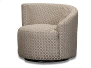 Accent LAF Swivel Chair - (R-Dax Taupe) Product Image