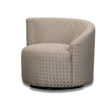 Accent LAF Swivel Chair - (R-Dax Taupe)