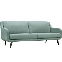 Verve Upholstered Fabric Sofa in Laguna