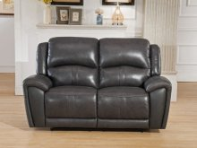 Jackson Cadet-Gray Reclining Loveseat