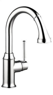 Chrome Talis C 2-Spray Prep Kitchen Faucet, Pull-Down
