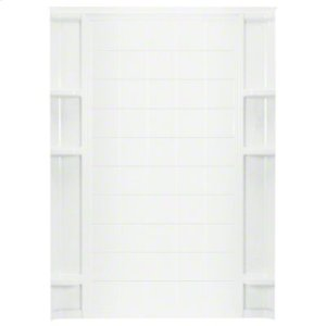 "Ensemble™ 60"" Tile Backwall - White Product Image"
