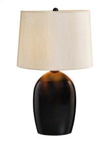 Brown Jug Lamp