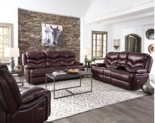 STANDARD 4074592 Denali Leather Power Reclining Sofa
