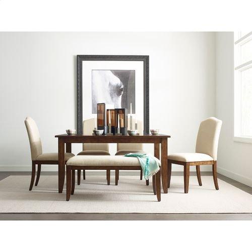 "The Nook 60"" Rectangular Leg Table"