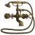 Additional Asbury - Claw Foot Bathtub Filler with Handshower - Brushed Nickel