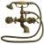 Additional Asbury - Claw Foot Bathtub Filler with Handshower - Aged Brass