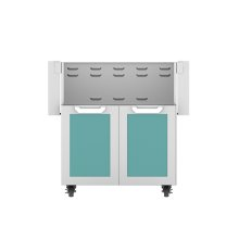 "30"" Hestan Outdoor Tower Cart with Double Doors - GCD Series - Bora-bora"