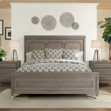 Dara Two - Full/queen Panel Headboard - Gray Wash Finish