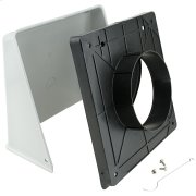 """Surface Wall Cap Damper - 5"""" Round Duct Product Image"""