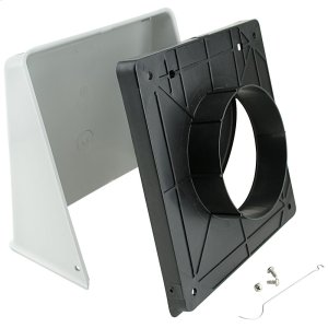 """WhirlpoolSurface Wall Cap Damper - 5"""" Round Duct"""