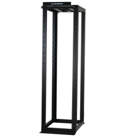 """MM20 4-Post Rack, 30""""D fixed, 7'H, 45 RU, tapped #12-24"""