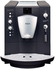 Built-in fully automatic coffee machine Aluminium / anthrazit