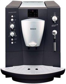 Built-in fully automatic coffee machine Aluminium / anthrazit