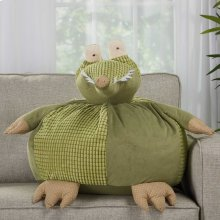 "Plushlines N1566 Green 18"" X 18"" Round Plush Animals"