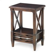 Spindle Mini Table - Walnut